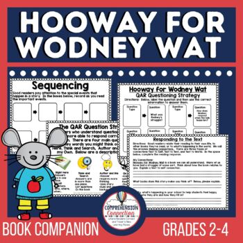 Hooway for Wodney Wat Teaching Unit by Comprehension