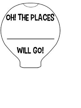 Hot Air Balloon Goal Setting Craftivity by Teach Like A