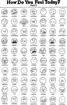 How Do You Feel Today? Autism Feelings Chart Icon