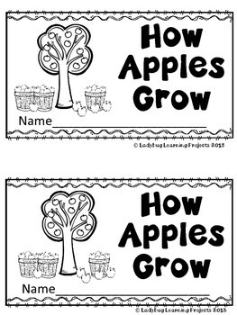 How Apples Grow (A Sight Word Emergent Reader) by Ladybug