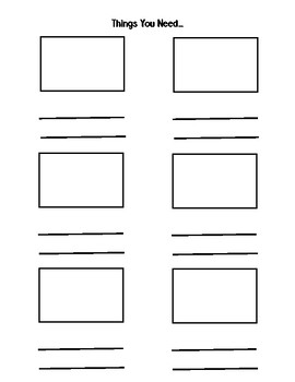 How-To Book Pages (inspired by Lucy Calkins) by