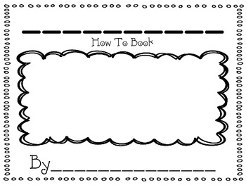 How To Writing Template by Tales From The First Grade By