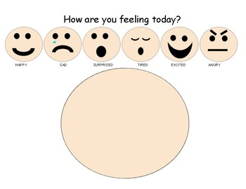 How are you feeling today? Morning Work by Lauren Butler | TpT