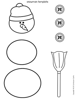 How to Build a Snowman Writing Activity! by Curriculum