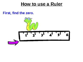 How to Use a Ruler *PowerPoint Presentation* by
