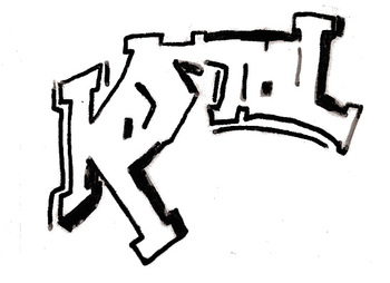 How to draw your name Graffiti Style Handout by No Corner