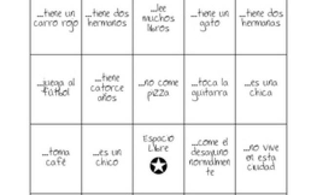 Human Bingo Icebreaker For Novice Learners By Placido