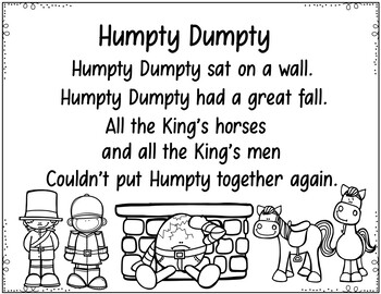 Humpty Dumpty (Sequencing Activities and Mini Books) by
