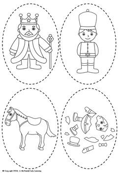 Humpty Dumpty Nursery Rhyme Puppets by Little Hands Early