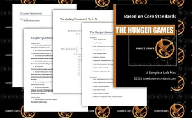 Hunger Games Lesson Plans Unit Plan For Teaching The