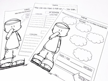 I Can Be a Leader Activity Worksheets by Handy Hanlon