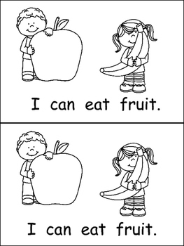 I Can Be Healthy- Emergent Reader- Kindergarten Healthy
