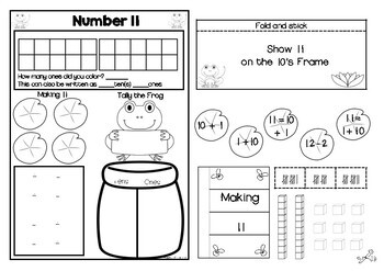 I Can Compose and Decompose Numbers From 10-20 by Apples