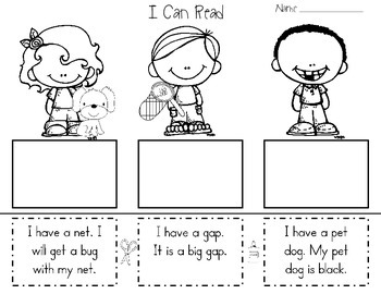 I Can Read Sentences for Understanding! Kindergarten