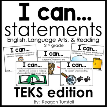 I Can Statements English Language Arts and Reading TEKS