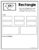 I Can Trace My Shapes Worksheet Packet by Harper's Hangout