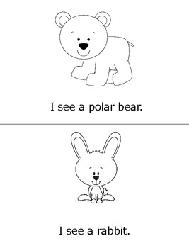 I See Arctic Animals- Print... by Diving Into Learning