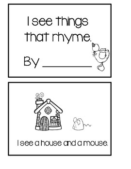 Things That Rhyme With House : things, rhyme, house, Things, Rhyme, Creations