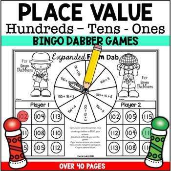 Place Value Worksheets 3 Digits (100 to 120) by Carrie