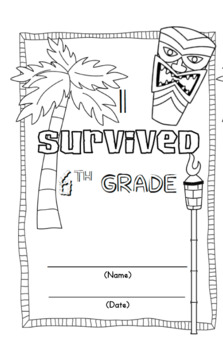 *I Survived 6th Grade* End of Year Memory Book for Big