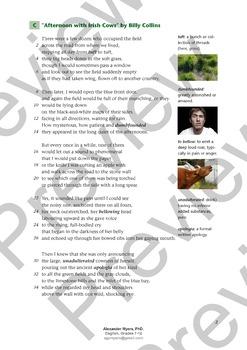 IGCSE Poetry: