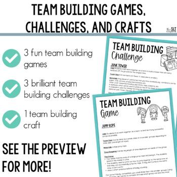 Ice Breaker & Team Building Activities for Back to school