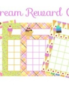 Ice cream incentive reward charts also by pink posy paperie tpt rh teacherspayteachers