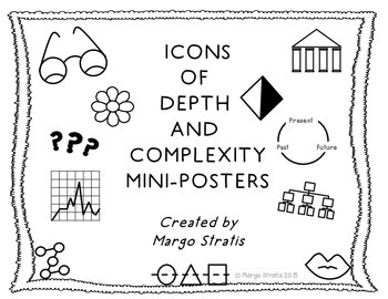 Icons of Depth and Complexity Mini-Posters by Margo