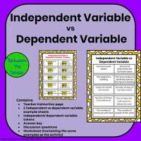 Identifying Independent and Dependent Variables by Between ...