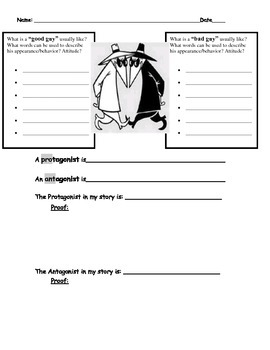 Identifying Protagonist & Antagonist in Fairy Tales by