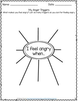 Free Identifying Triggers For Anger By Pathway 2 Success