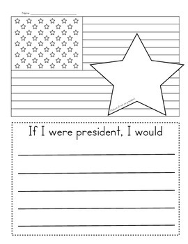 If I Were President Writing by Keri Tisher | Teachers Pay ...