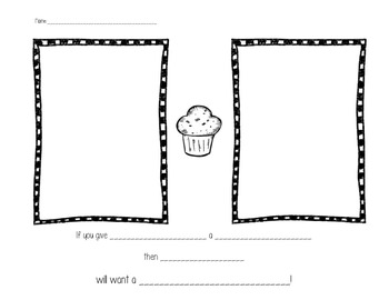 If You Give a Kid a Muffin! Extension activity by Miss