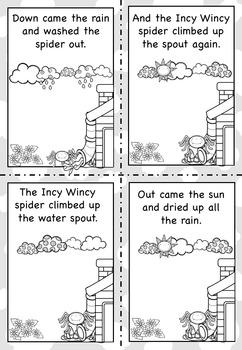 Incy Wincy Spider Nursery Rhyme Pack AUS UK by Curious Fox