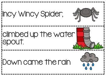 Incy Wincy Spider: Nursery Rhyme Pack by Miss Jacobs