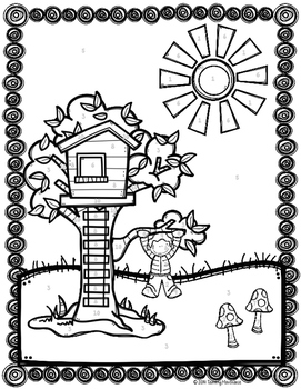 Independent & Dependent Variables Fun Coloring Activity by