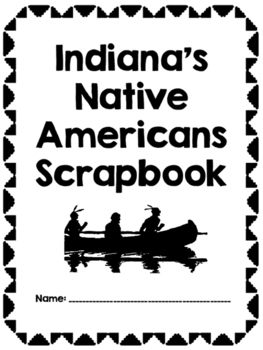 Indiana's Native Americans Scrapbook by Teaching Tiny