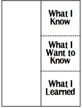 Informational Text Foldables for Reader's Notebooks by