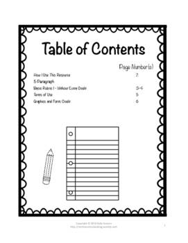 Informative/Explanatory Writing Basic Rubric CCSS Aligned