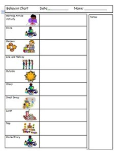 Inidual behavior chart step one also teaching resources teachers pay rh teacherspayteachers