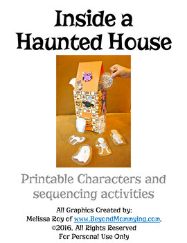 Inside a House that is Haunted Sequencing Activities by