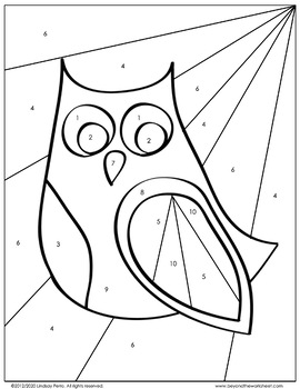 Order of Operations with Integers Coloring Worksheet by