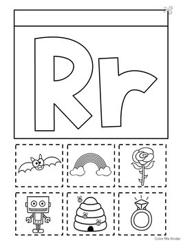 Interactive Beginning Sounds Notebook for Pre- K and K No