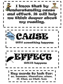 Interactive Cause and Effect Notebook Activities...NO PREP