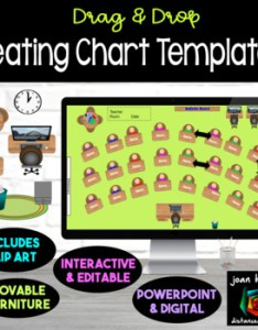 Interactive classroom seating chart planner with google slides also tpt rh teacherspayteachers