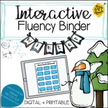#Jan17SLPMustHave Interactive Fluency (Stuttering) Binder