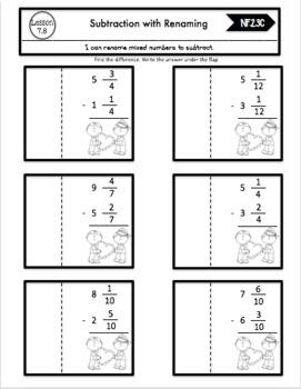 Interactive Math Notebook Go Math 4th Grade Chapter 7 by