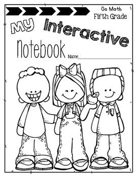 Interactive Math Notebook Go Math Fifth Grade Chapter 2 by