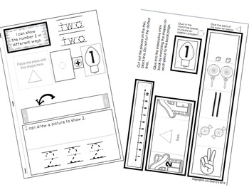 Interactive Math Notebook: Interactive Mini-Book for