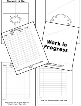 Interactive Math Notebook by To the Square Inch- Kate Bing